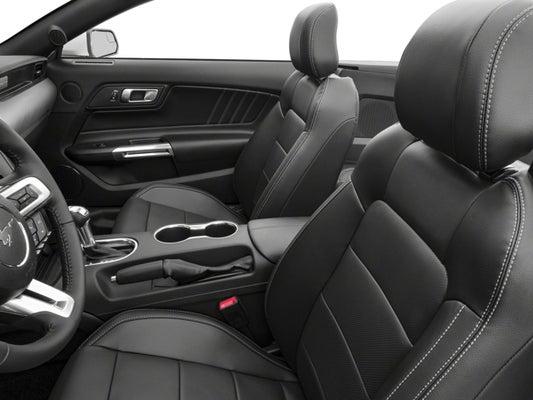 2018 Ford Mustang Ecoboost Premium Convertible Nav 18 Black Wheels